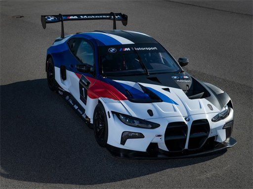 BMW M4 GT3 Головоломка