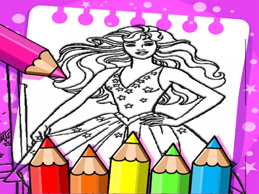 Barbie Coloring Book