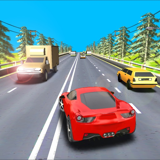 Highway Driving Car Racing Game 2020