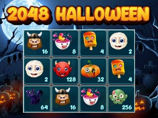 2048 Хэллоуин