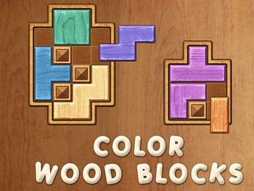 Цветные деревянные блоки
