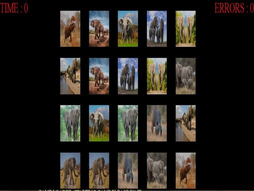 memorize the elephants