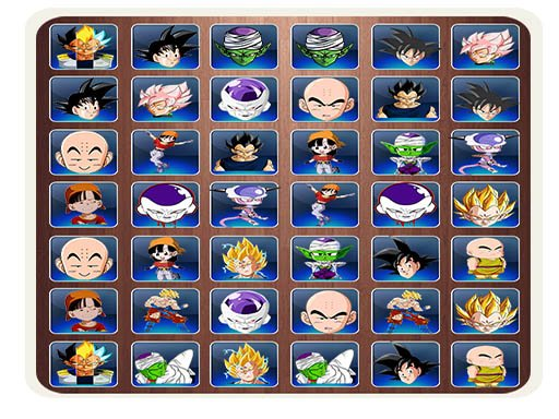 Play Find The Dragon Ball Z Face