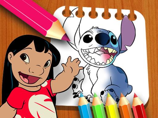 Lilo and Stitch Coloring Book
