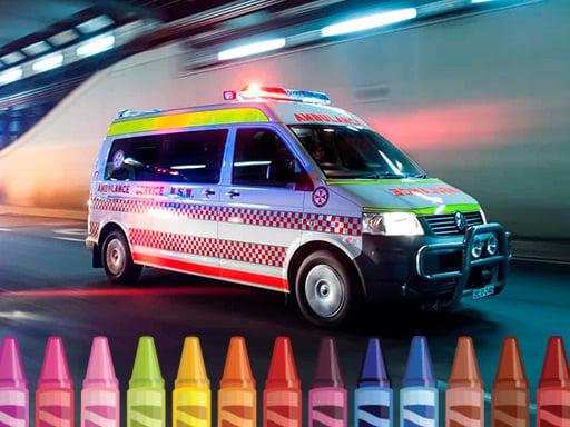 Play Ambulance Coloring
