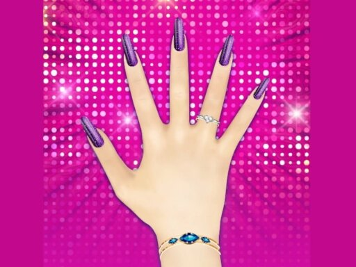 Magic Nail Spa Salon - New Games - Cool Math Games