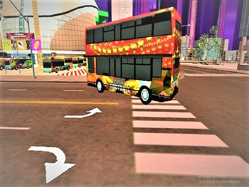 American Football Passenger Bus Game