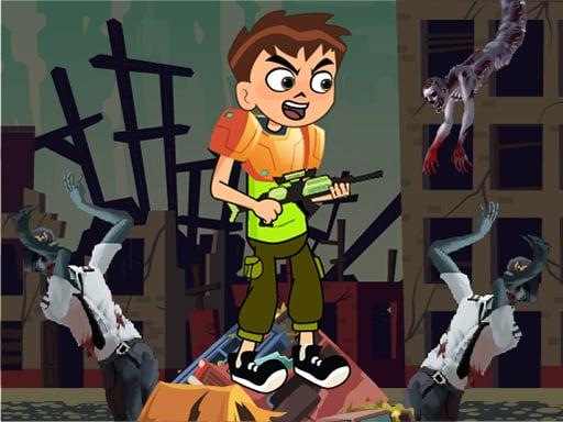 Бен 10 Зомби Мировой Войны