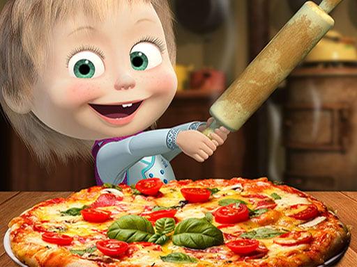 Play Masha Pizza Maker - Pizzeria