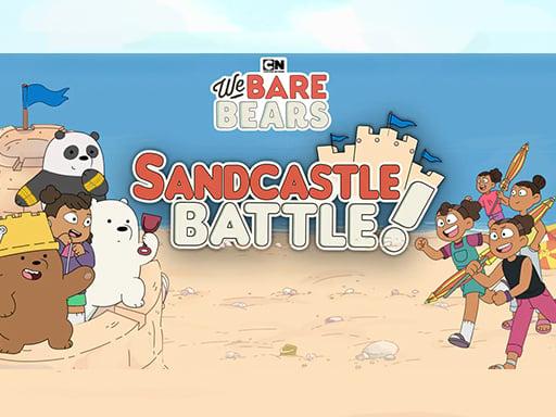 SandCastle Battle - We Bare Bears