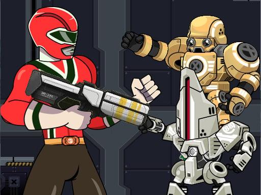 Военная машина Power Rangers