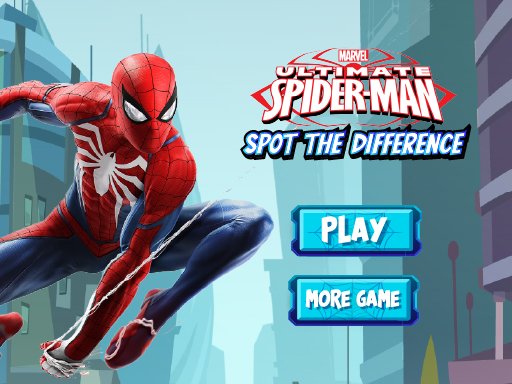 Spiderman Spot The Differences - Puzzle Game