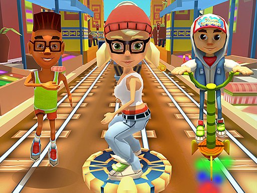 Train Surfers Game