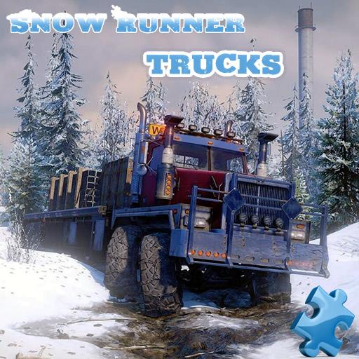 Snow Runner Trucks Jigsaw