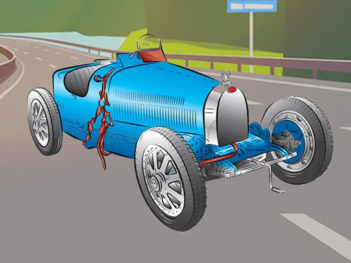 Vintage Cool Cars Memory