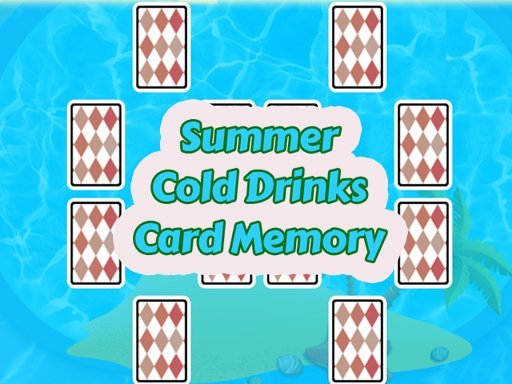 Play Summer Cold Drinks Card Memory Online