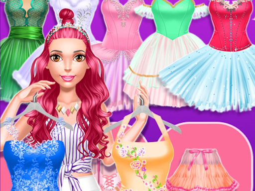 Beautiful Ballerina Magazine Dress Up - Popular Games - Cool Math Games