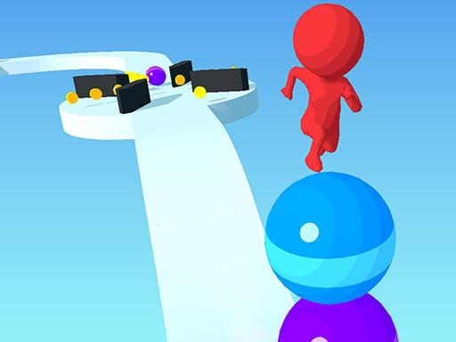 Бегущий по мячу 3D