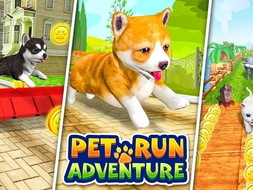 Pet Run Adventure Puppy Run - Popular Games - Cool Math Games
