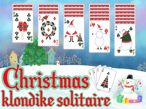 Christmas Klondike Solitaire - Popular Games - Cool Math Games
