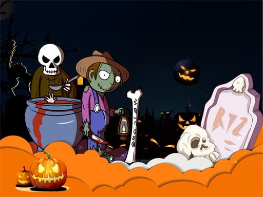 Слайд с праздником Хеллоуин