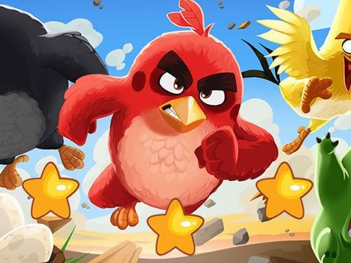Play Angry Birds Hidden Stars