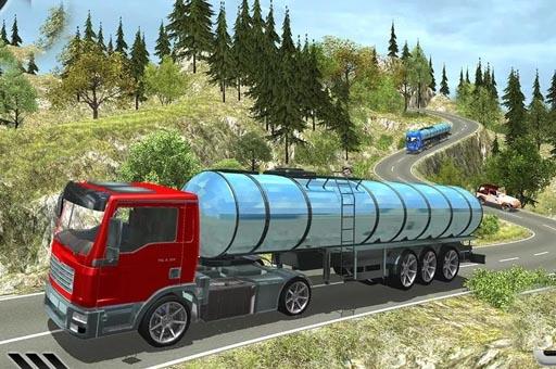 Oil Tanker Truck Game