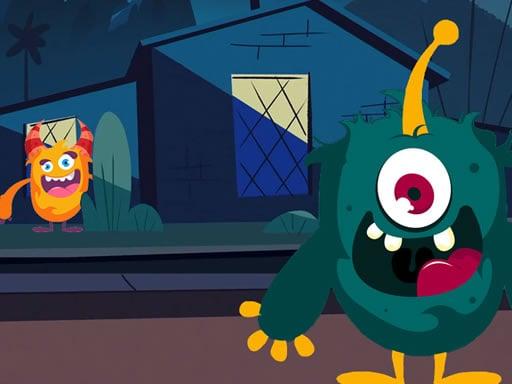 Funny Monster Jigsaw