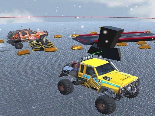 Offroad truck 4×4 and demolition derby