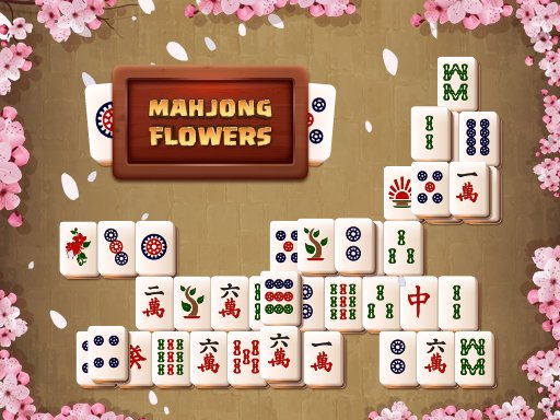 Mahjong Flowers - Popular Games - Cool Math Games