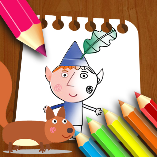Ben Hollys Coloring Book