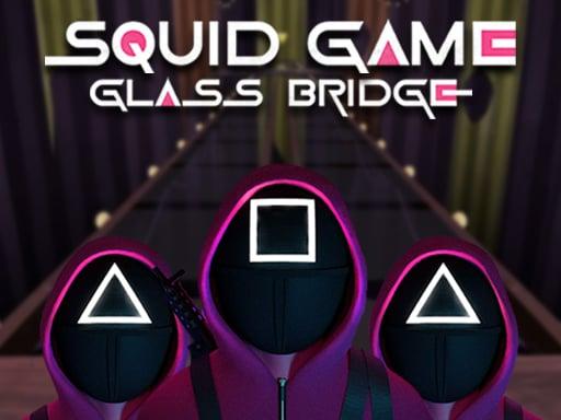 Стеклянный мост для игры в кальмары