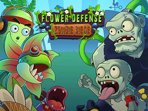 Flower Defense - Zombie Siege
