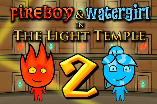 New Fireboy and Watergirl 2: Light Temple