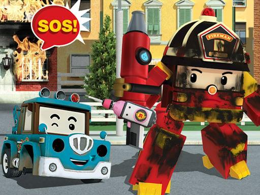 Robot Car Emergency Rescue 2