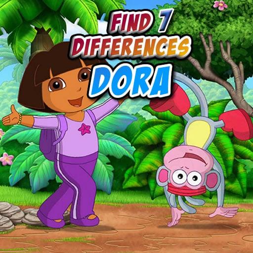 Dora -Find Seven Differences
