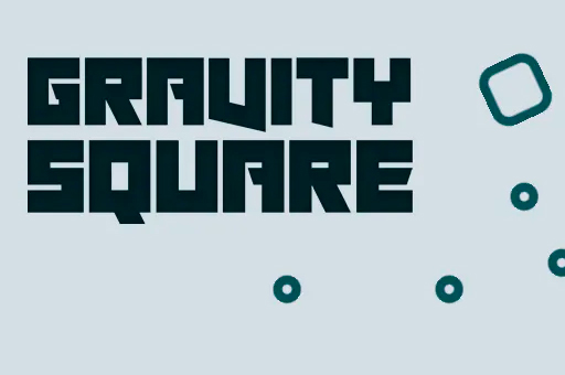 Gravity Turquoise Square