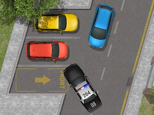 Припаркуйте полицейскую машину