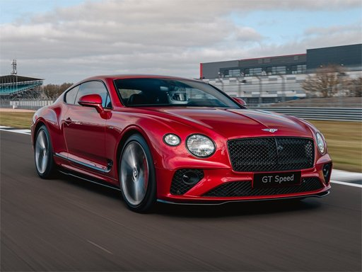 Play Bentley Continental GT Speed Puzzle