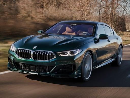 BMW B8 Gran Coupe Slide