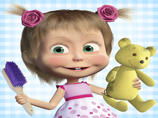 Play Masha and the Bear: House Cleaning