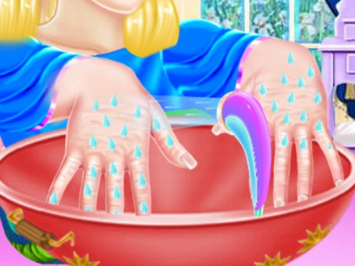 Play Princess Ella Hand Care