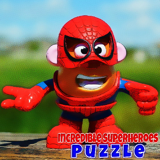 Incredible Superheroes Puzzle