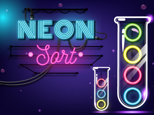 Neon Sort  Puzzle - Color Sort Game