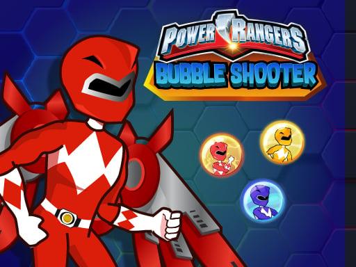Power Rangers Bubble Shoot Головоломка