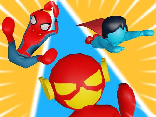 Гонка супергероев онлайн