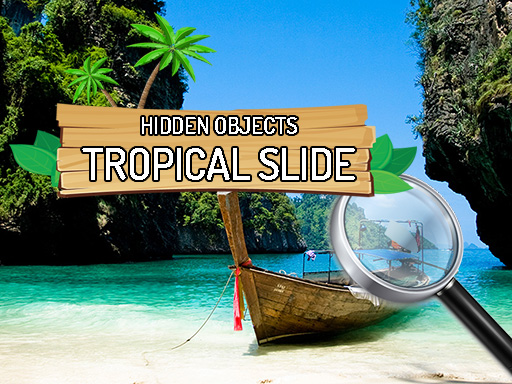 Hidden Objects Tropical Slide