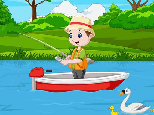 Головоломка для рыбалки