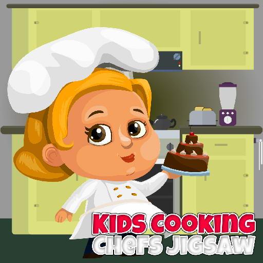 Kids Cooking Chefs Jigsaw