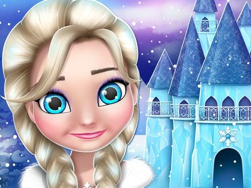 Игра про дизайн и украшение кукольного домика ледяной принцессы